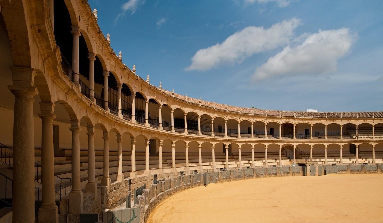 Арена для боя быков на Пласа-де-Торос