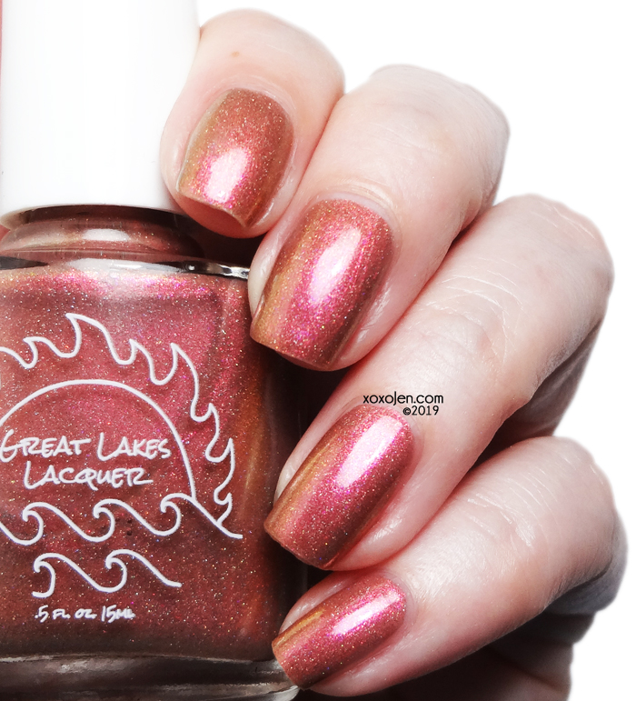 xoxoJen's swatch of Great Lakes Lacquer Bitches Get Stuff Done