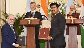 India and Argentina sign MoU for Co-Operation in Nuclear Energy