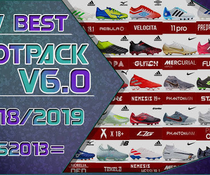 PES 2013 New Best Bootpack V6.0 2019/2020 HD