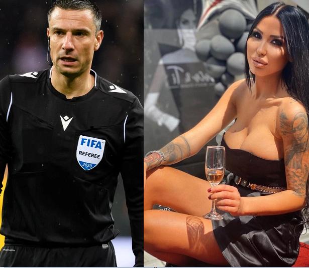 Slovenian referee, Slavko Vincic was detained in a cabin in Bijeljina