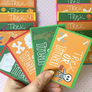 Halloween at Home - Trick or Treat Cards