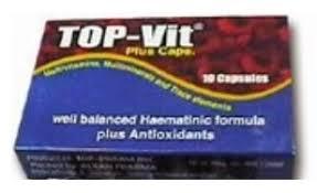 سعر أقراص توب فيت بلس Top Vit Blus لعلاج الأنيميا