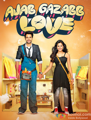 Ajab Gazabb Love 2012 Hindi HDRip 720p 850mb bollywood movie ajab gazabb love 700mb 720p compressed small size free download or watch online at world4ufree.cc