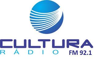 Rádio Cultura FM 92.1 de Timbó SC antiga 1520 AM