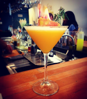 Passion fruit cocktail