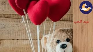 عيد الحب، عيد الحب في الأردن، الفالنتاين، عيد العشاق، وردة العشاق، دب كبير، خاروف، خاروف عيد الحب