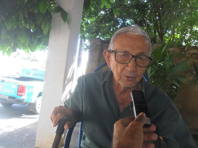 LUTO: Aposentado João Silidona morre aos 94 anos em Elesbão Veloso.