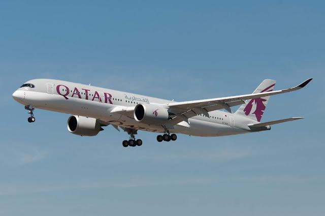 QATAR Airways A7-ALA - Airbus A350-900