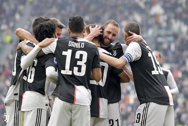 Video Cuplikan Gol: Juventus 2-0 Brescia (Serie A)