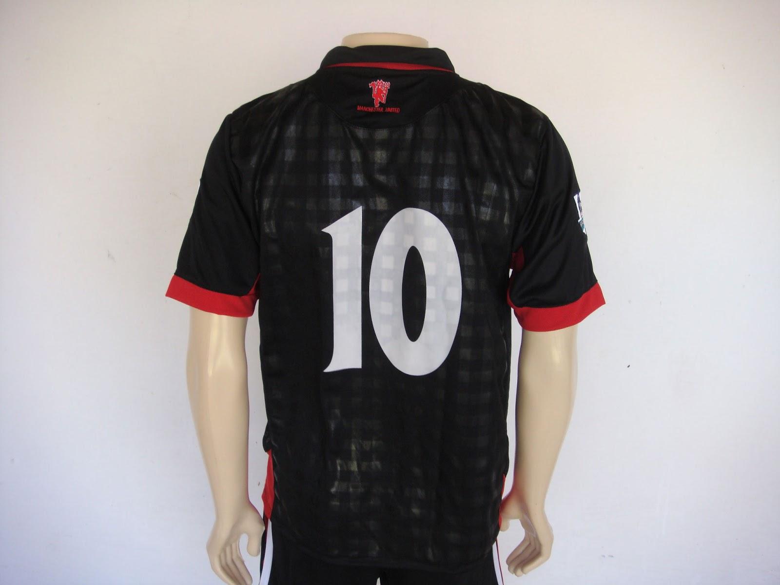 Loja AED: Camisa Clube Manchester United Preta
