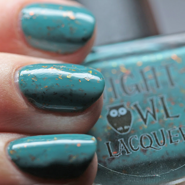 Night Owl Lacquer No Scars to Your Beautiful