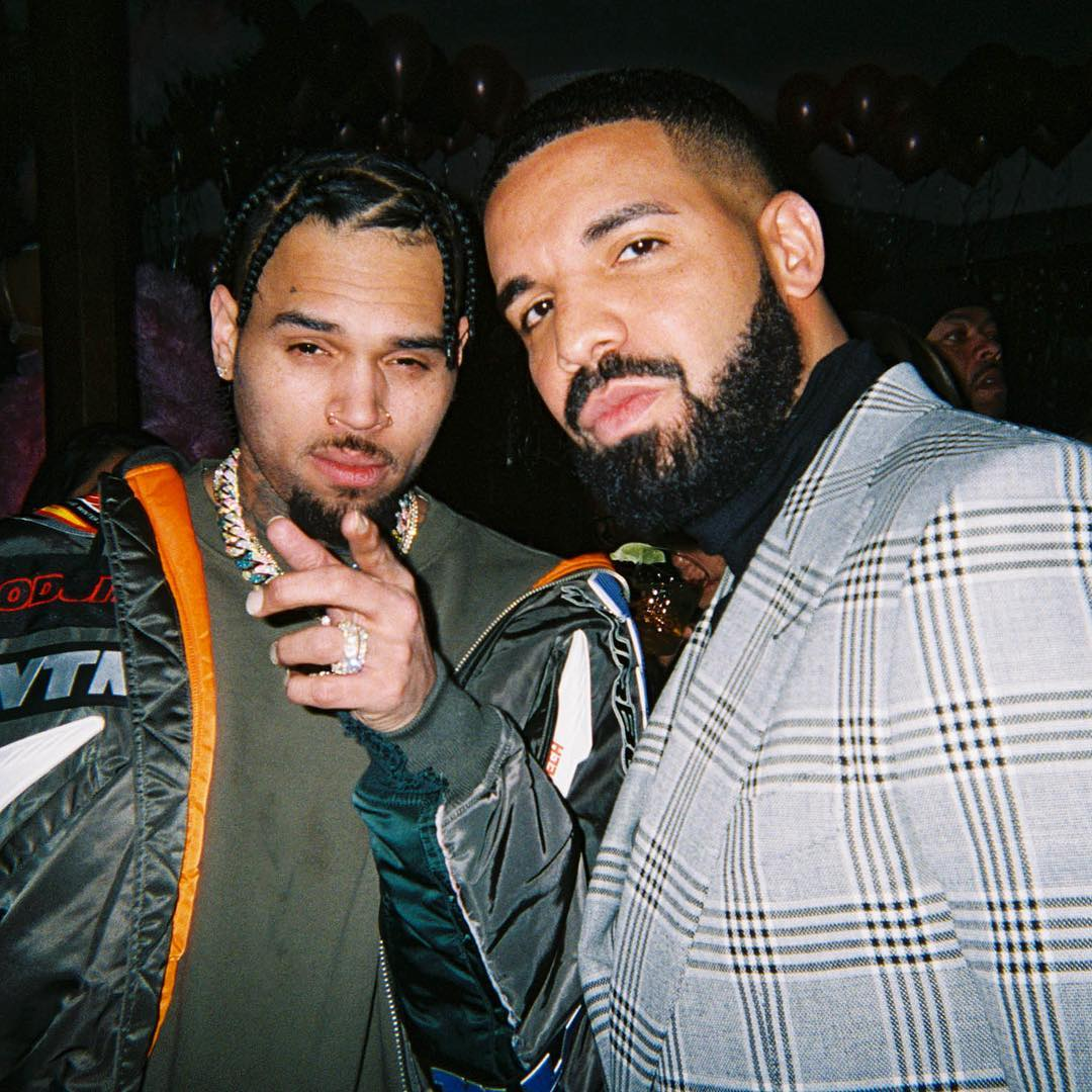 Drake Hints New Music Coming with Chris Brown - The Black Teapot