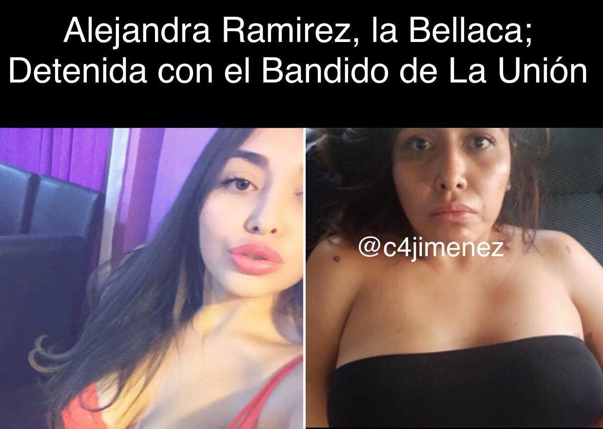 Las Novias de La Unión de Tepito, Alejandra e Ilse, hermosas con filtros pero horribles sin ellos