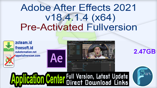 Adobe After Effects 2021 v18.4.1.4 (x64) Pre-Activated Fullversion