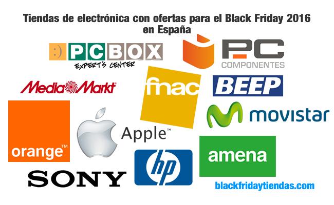 Tiendas de electrónica con ofertas para el Black Friday 2016 en España