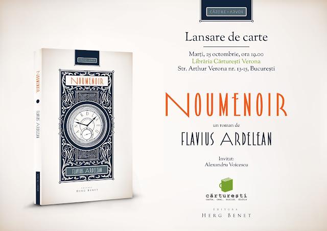 Lansarea romanului Noumenoir de Flavius Ardelean