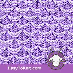 #slipstitchknitting Two color Hoenycomb stitch. EASY TO KNIT. FREE Knitting Pattern!  #easytoknit #knitting