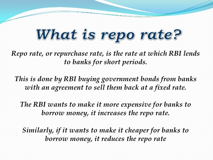 what is repo rate wikipedia