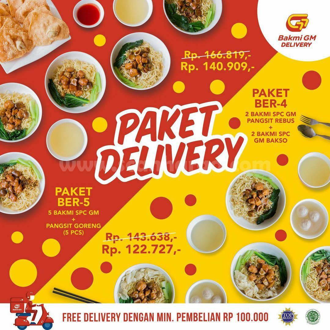 Promo BAKMI GM Paket Delivery – Harga Spesial mulai dari Rp 122K
