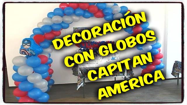 decoracion-con-globos-fiesta-capitan-america-recreacionistas-medellin-1