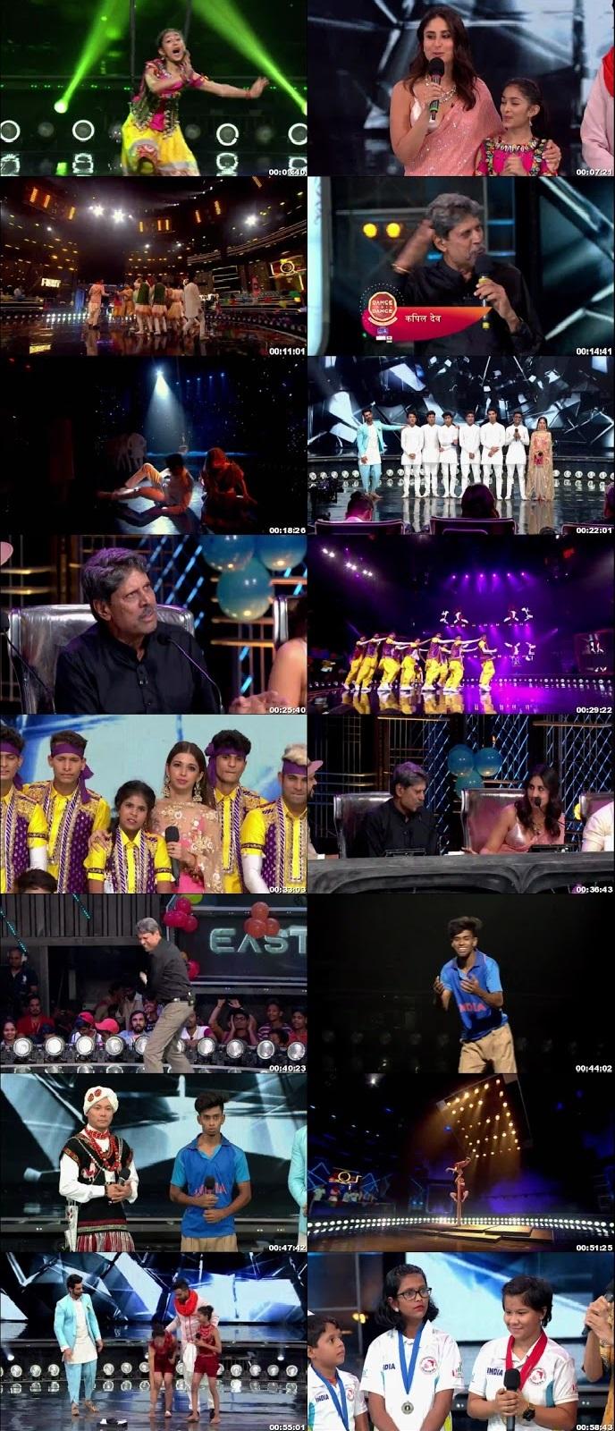 Screenshots Of Hindi Show Dance India Dance Battle of the Champions Season 7 10th August 2019 Episode 15 300MB 480P HD