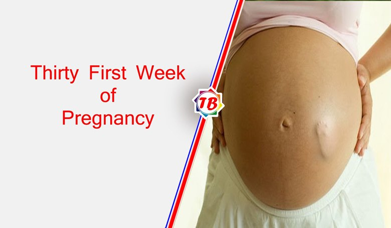Thirty First Week of Pregnancy