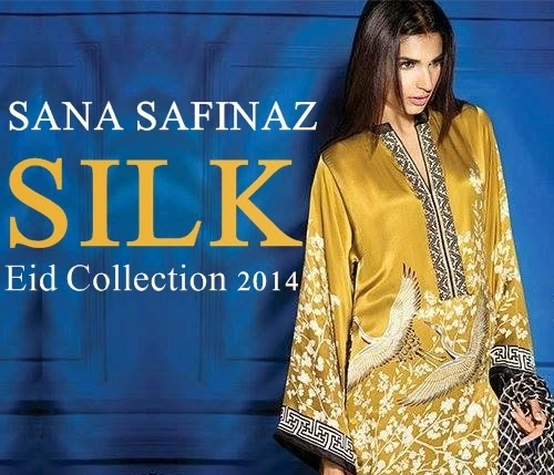 Sana Safinaz Silk Collection 2014-2015 | Sana Safinaz Eid ...