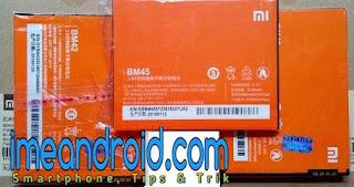 baterai xiaomi asli dan palsu