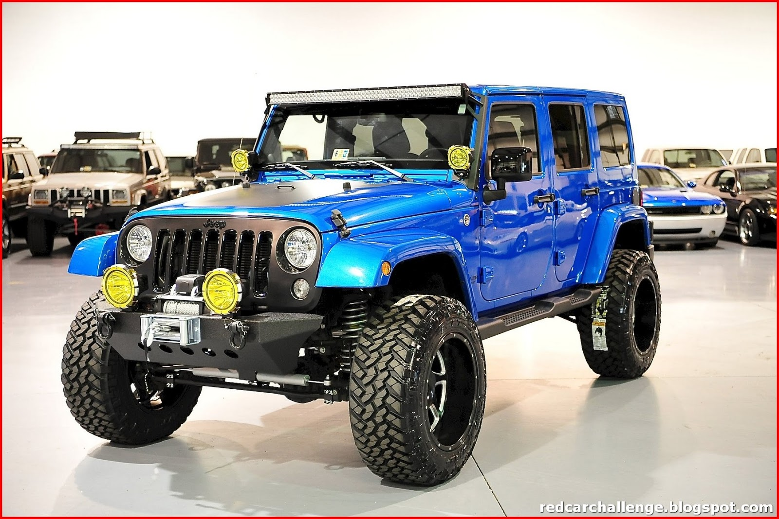 Hydro Blue Jeep Wrangler Unlimited
