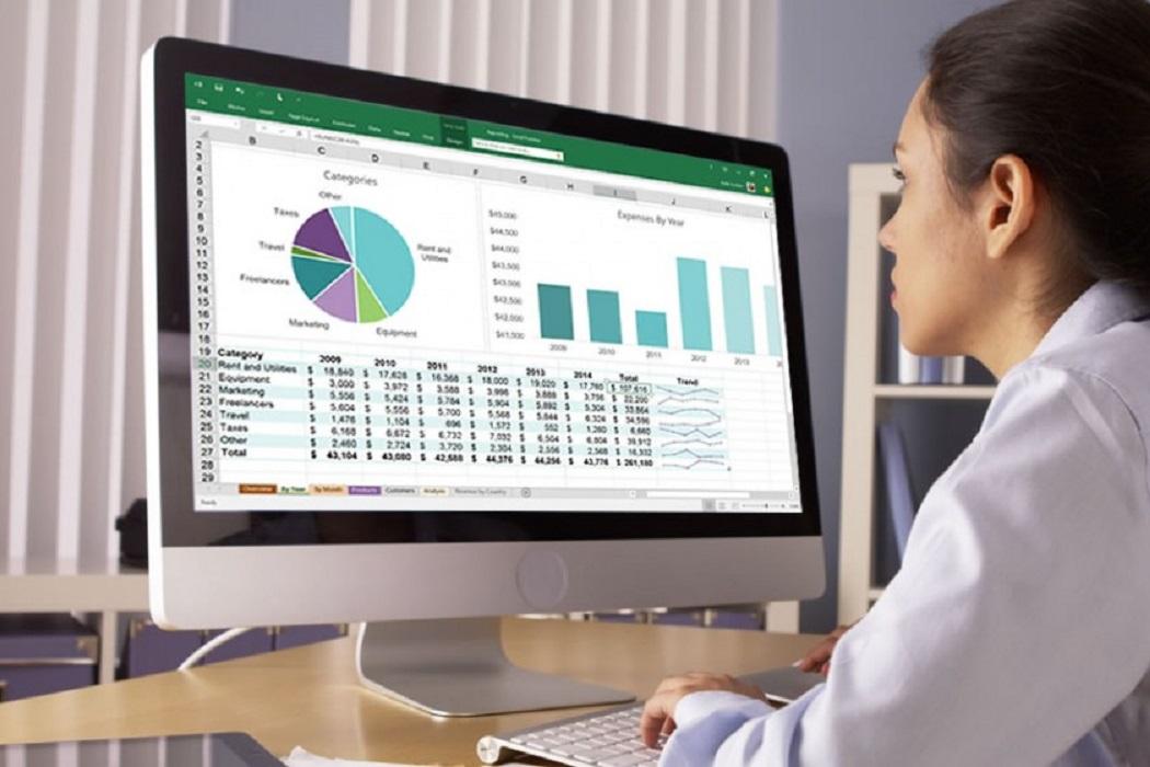 استخدام برنامج Microsoft Excel في المحاسبة المالية