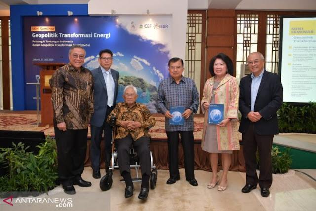 Wapres: Indonesia miliki potensi besar untuk energi terbarukan