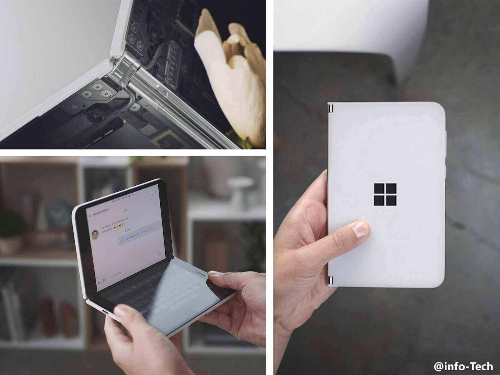 مايكروسوفت تكشف عن هاتفها الجديد القابل للطي Surface Duo