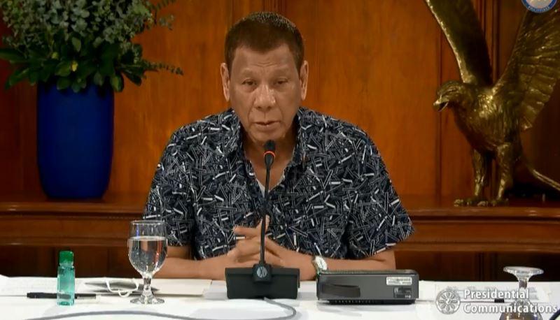 Duterte extends ECQ in Cebu City, GCQ in Metro Manila
