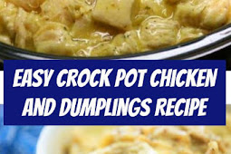 Easy Crock Pot Chicken and Dumplings #Chicken #Dumplings #ChickenDumplings #crockpot