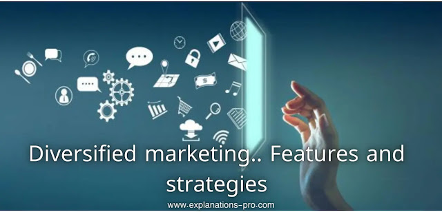 Diversified marketing.. Features and strategies
