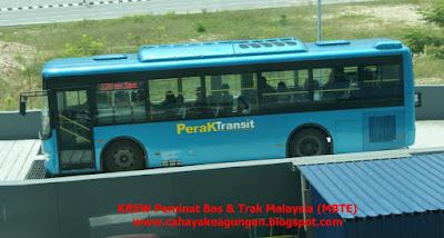 "BAS HENTI-HENTI PERAK TRANSIT MODEL ""KING LONG"""