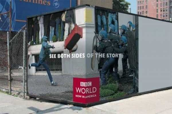BBC see both sides of the story