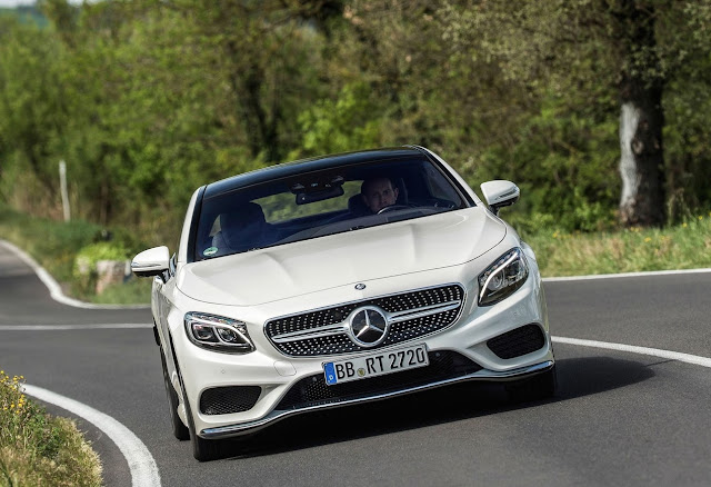 2015 Mercedes-Benz S-Class coupe white