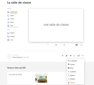 How to Embed Quizlet Flashcards - grab HTML code