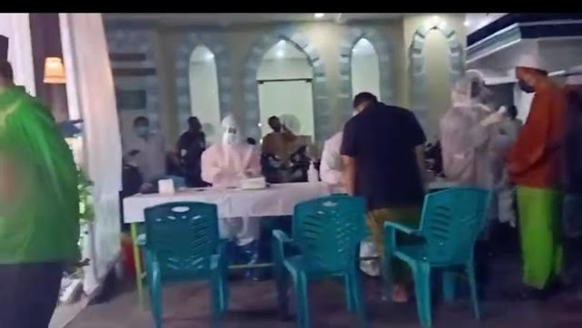 Ratusan Jemaah di Sidoarjo Rapid Test Usai Salat Tarawih, 6 Positif Reaktif