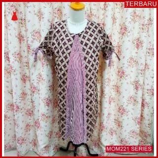 MOM221D25 Dress Hamil Menyusui Bintang Batik Dresshamil Ibu Hamil