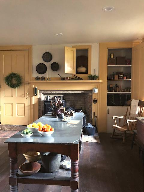 The Tallman kitchen ready for food prep.