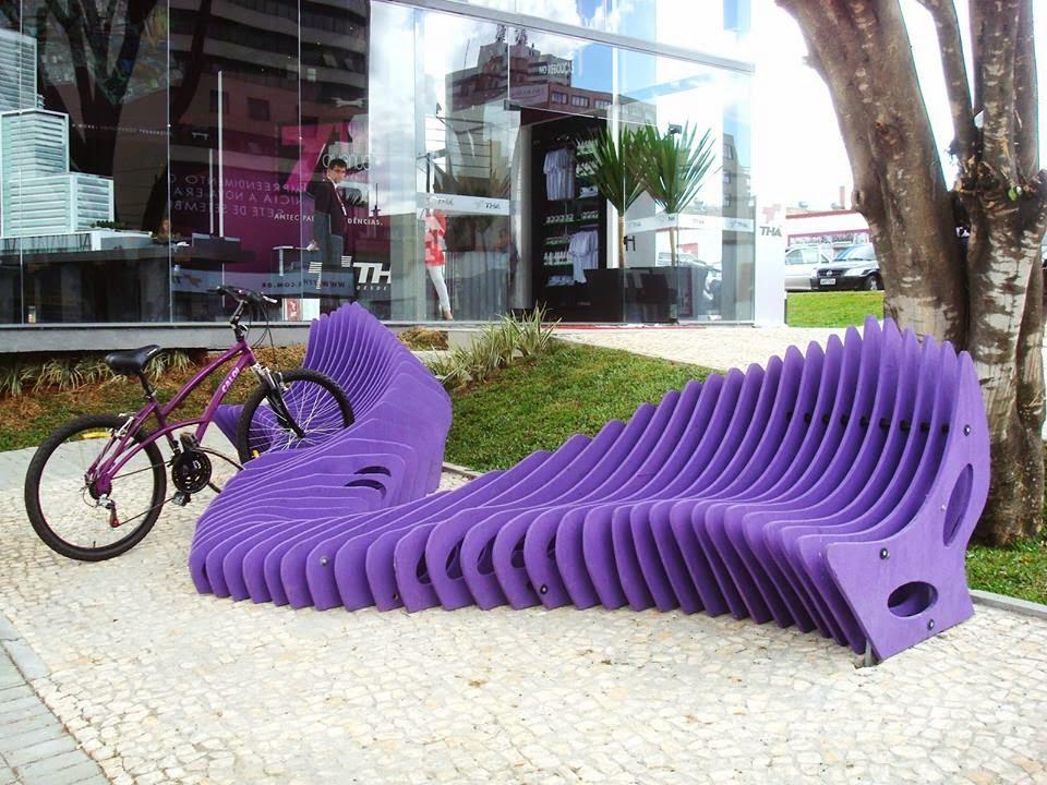 Ławki parkowe i stojaki rowerowe Starmax