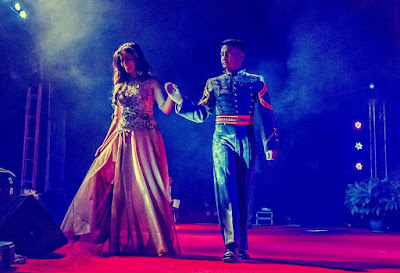 PMA Cadet Escorting Miss Baguio Contestant