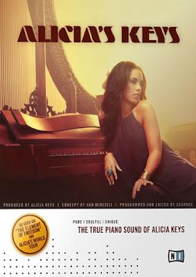Cover da Library Native Instruments - Alicia's Keys (KONTAKT)