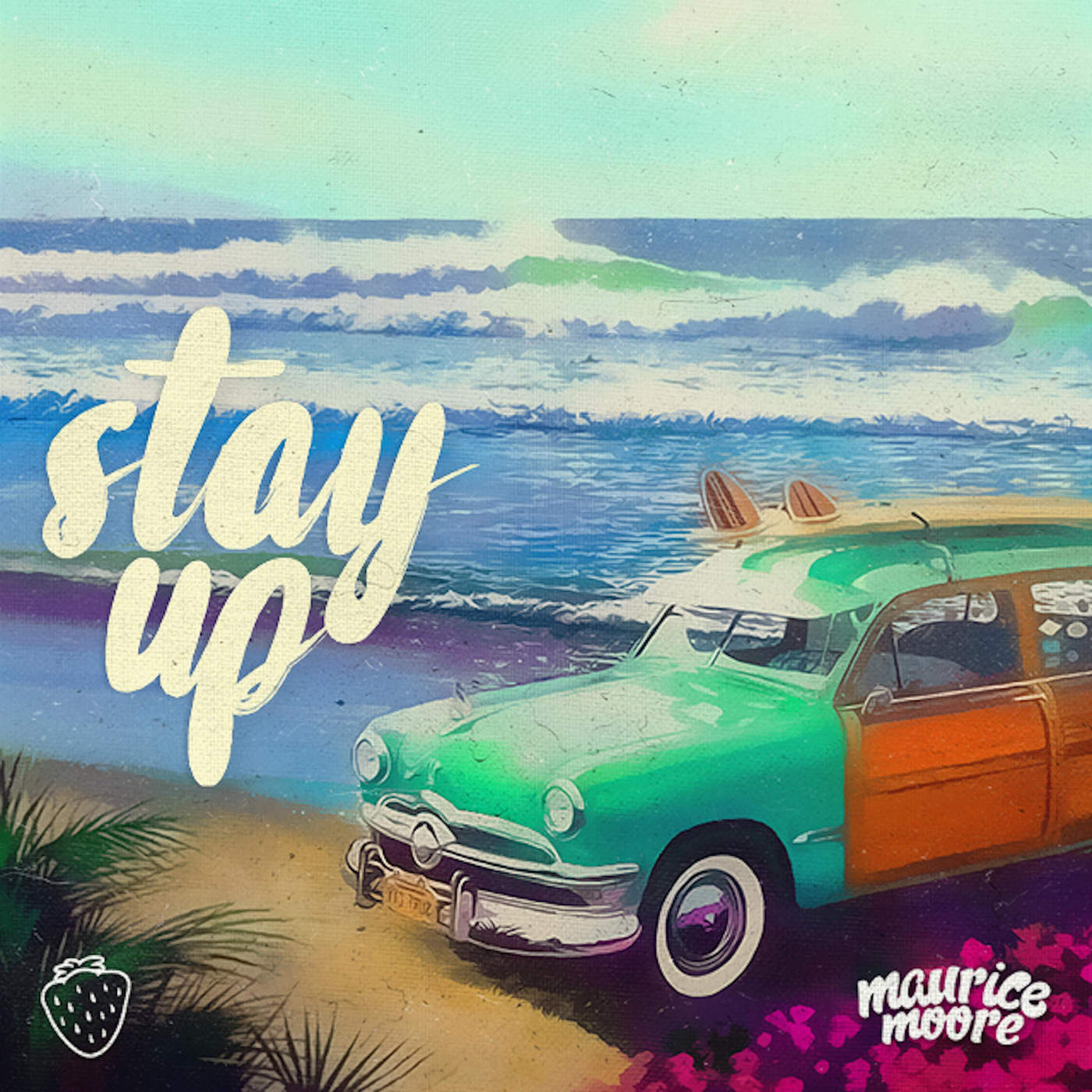 Maurice Moore - Stay Up - Single Cover
