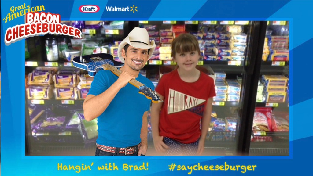 Lunchbox dad grocery shopping is fun with kraft and the for How many kids does brad paisley have