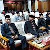 Bupati Adirozal dan Wabup Ami taher Hadiri Paripurna Mendengarkan Pidato Kenegaraan HUT RI