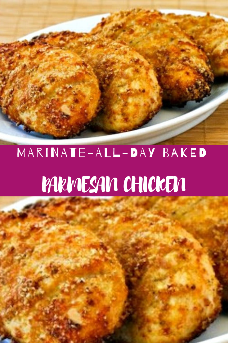 MARINATE-ALL-DAY BAKED PARMESAN CHICKEN RECIPE